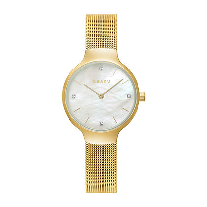 Vikke - Gold - Analog Watch