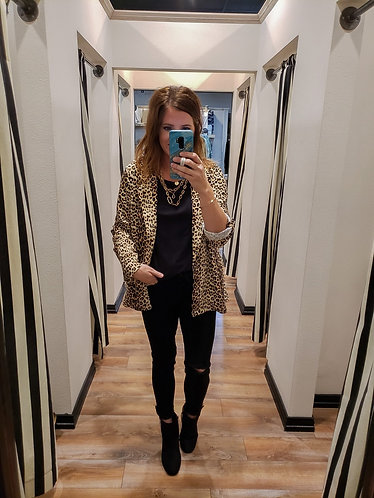 Cheetah Blazer