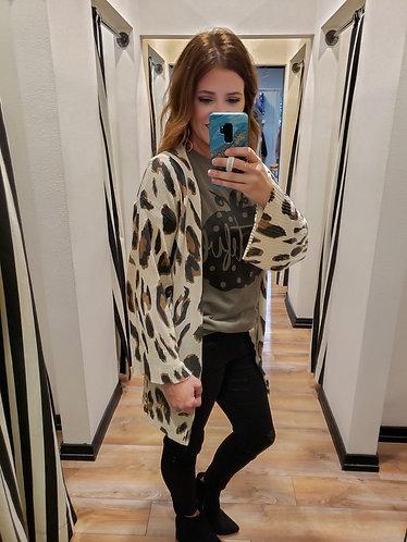 Cheetah Lightweight Cardi