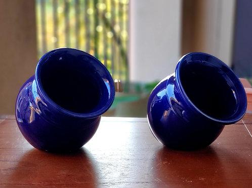 Cobalt Flavored Salt Pots