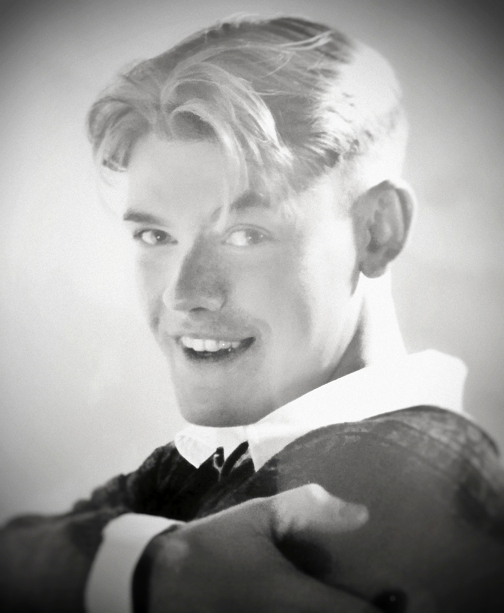 Steve Wentworth at 19 years old.