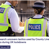 New research uncovers tactics used by County Lines drug networks during UK lockdowns