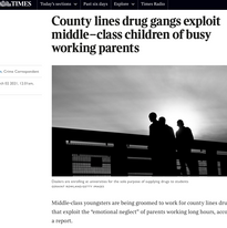 County Lines drug gangs exploit middle-class children of busy working parents