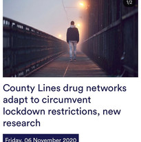 County Lines drug networks adapt to circumvent lockdown restrictions