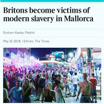 Britons become victims of modern slavery in Mallorca