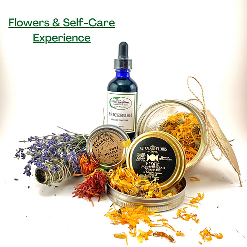 Flowers & Self Care Experience Pack