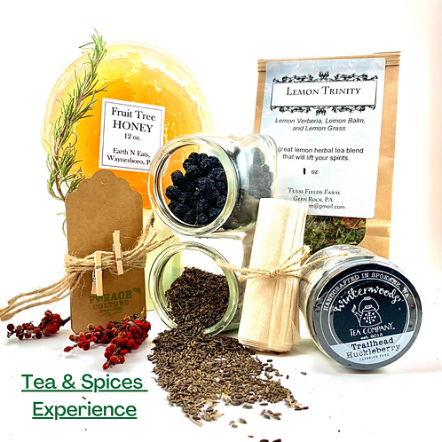 Teas & Spices Experience Pack