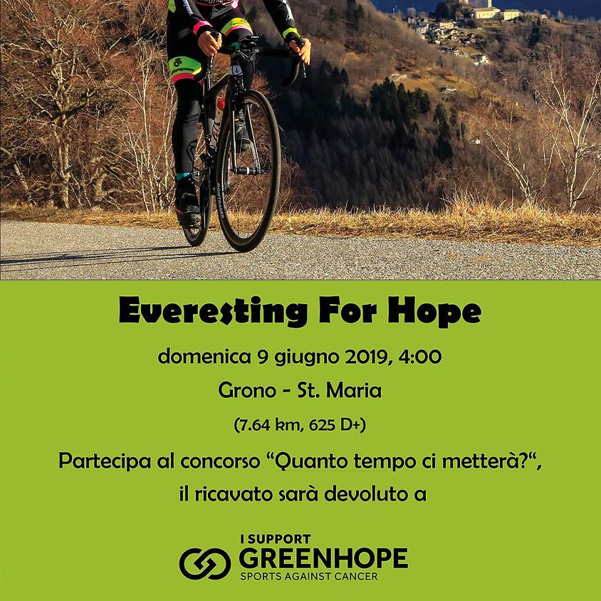 Everesting for hope