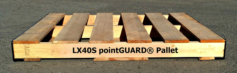 LX40S pointGUARD Pallet - Side View