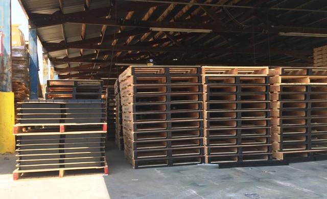 pointGUARD Pallet Assembly Area