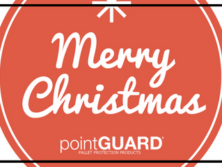 Merry Christmas from the pointGUARD® Pallet Protection & United Pallet Services family!