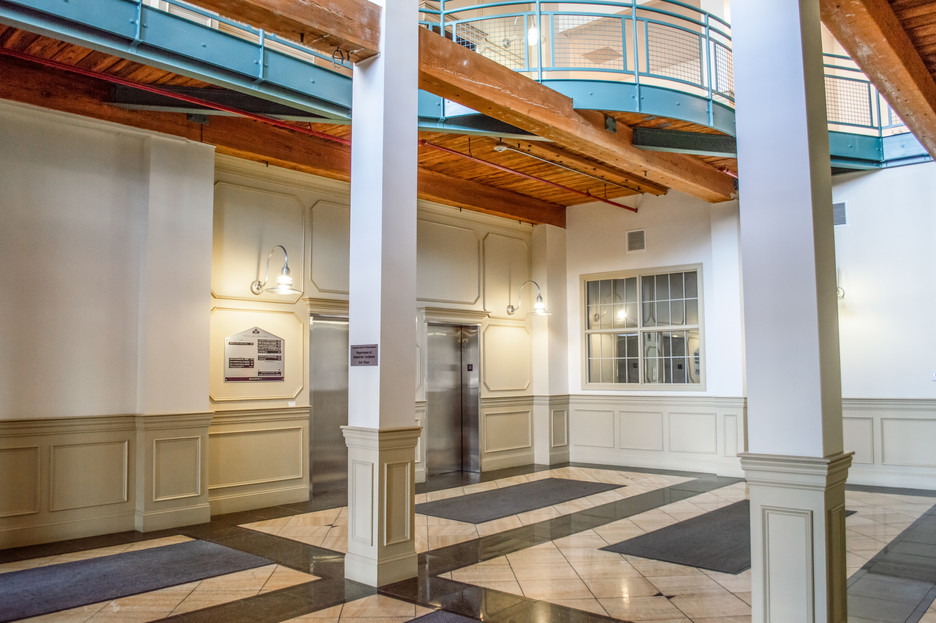 Office Building Fall River Lobby