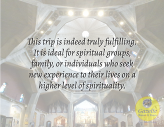 This trip is indeed an experience of a lifetime...