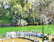 Water Baptism, River Jordan, Israel
