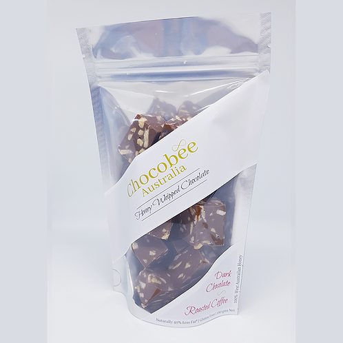 Dark Chocolate Roasted Coffee & Almond Pieces - 180gm