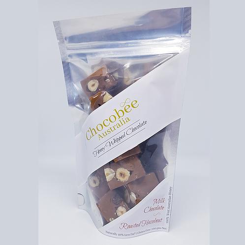 Milk Chocolate & Roasted Hazelnut Pieces - 180gm