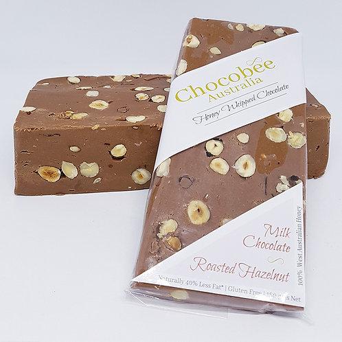 Milk Chocolate & Roasted Hazelnut Bar - 180gm