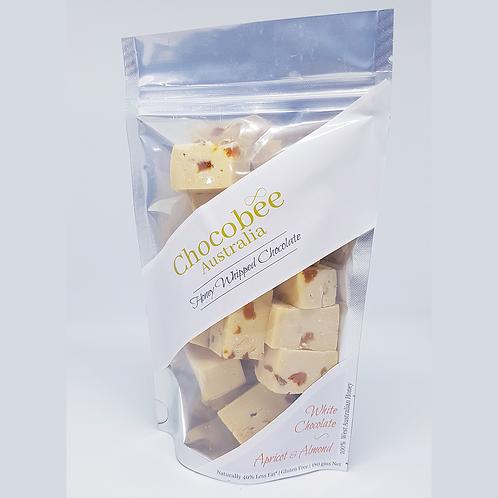 White Chocolate Apricot & Almond Pieces - 180gm