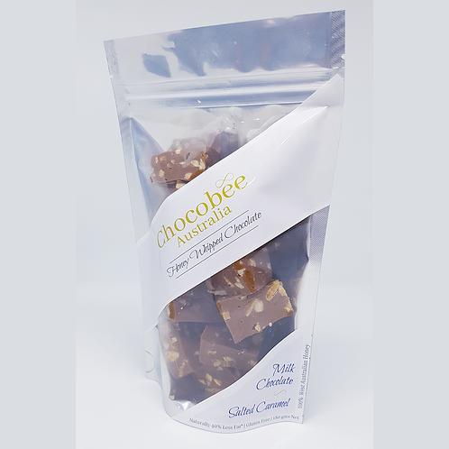 Milk Chocolate & Salted Caramel Pieces - 180gm