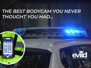 The best bodycam you never thought you had...