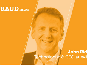 Can you trust what you're seeing? – by eviid CEO, John Ridd at FRAUDtalks 2019