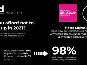 Motor claims under pressure: here's your silver bullet