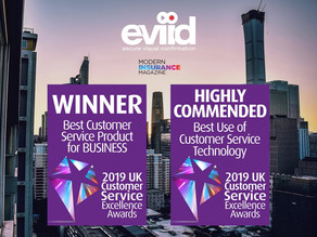 Awards aplenty for eviid's customer service excellence