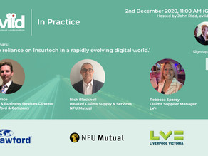 REGISTER NOW: 'The reliance on Insurtech in a rapidly evolving digital world', 2nd December, 11am