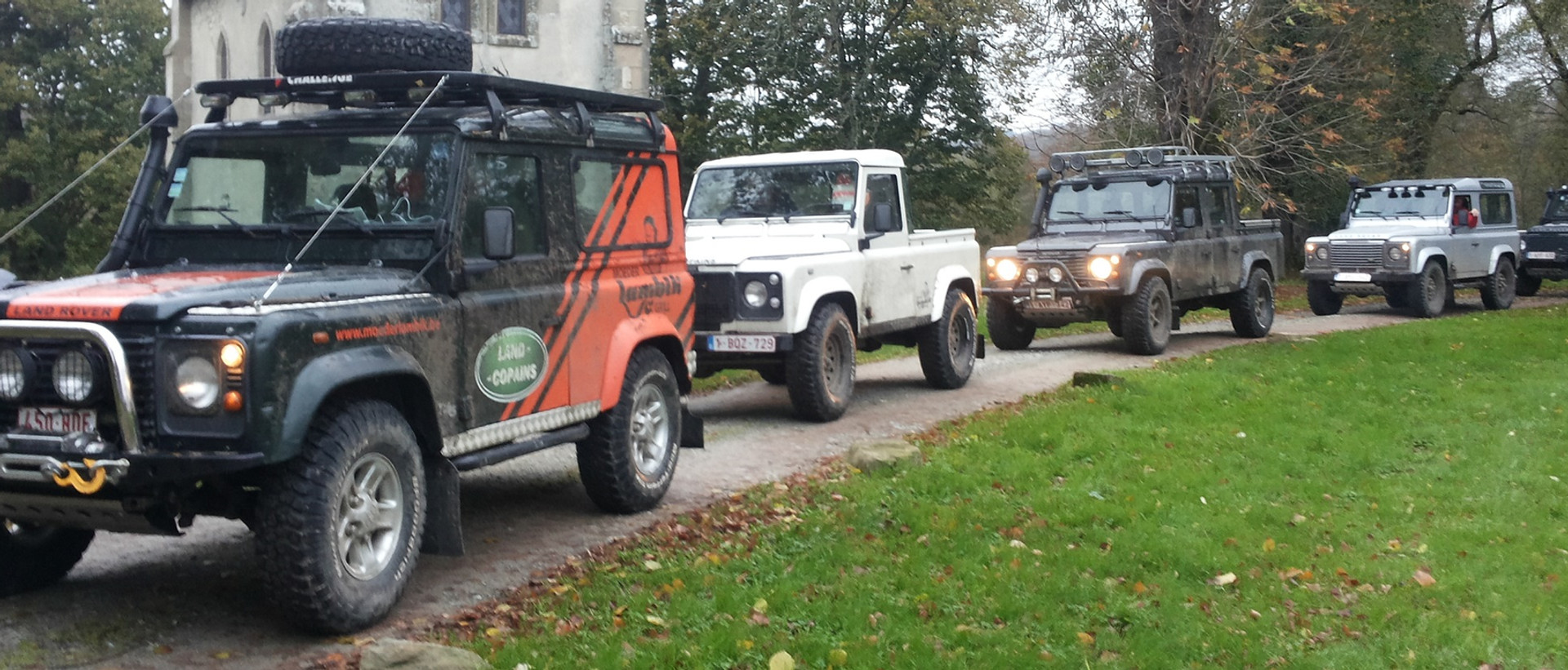 THIS BELGIAN LAND ROVER CLUB