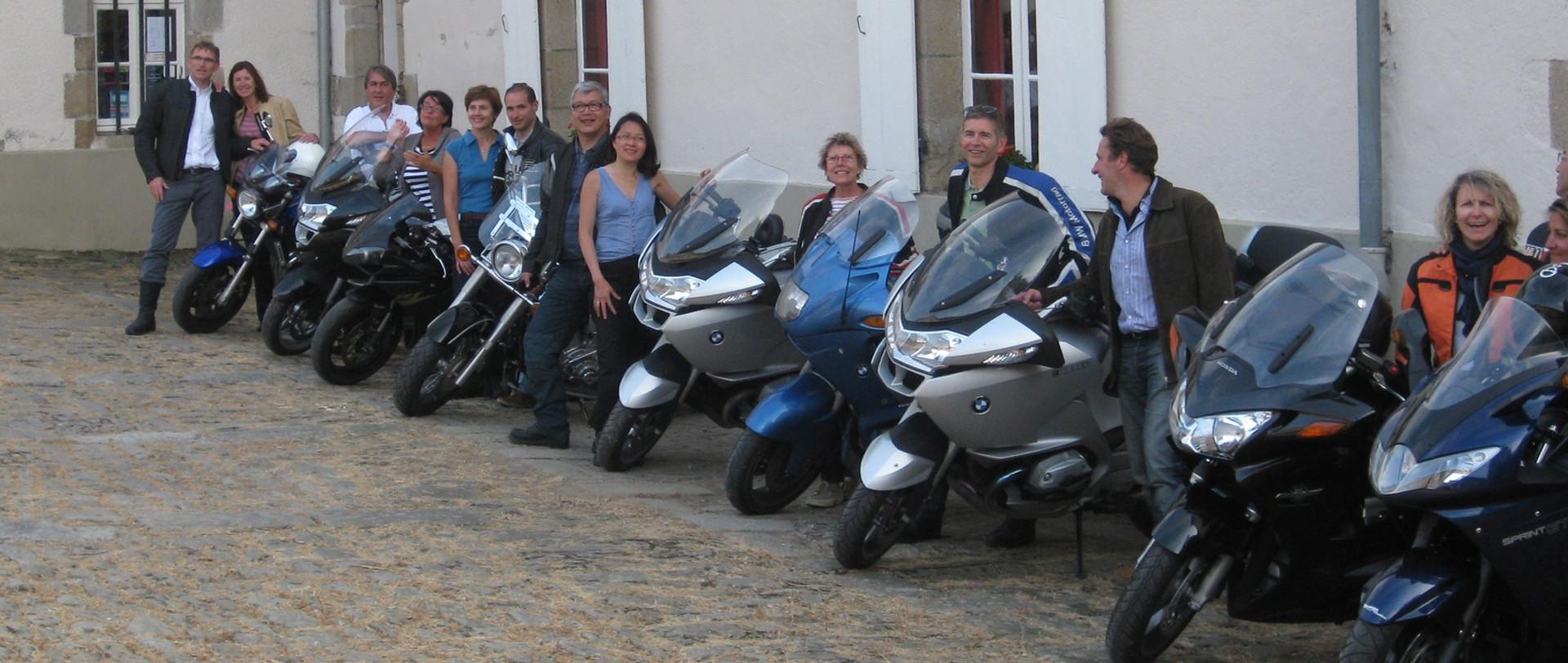 TOURING THROUGH CENTRAL FRANCE