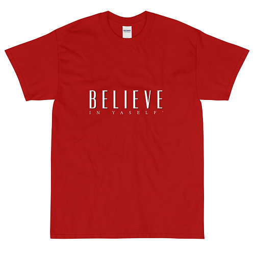 OFFICIAL Believe In Yaself' Tee