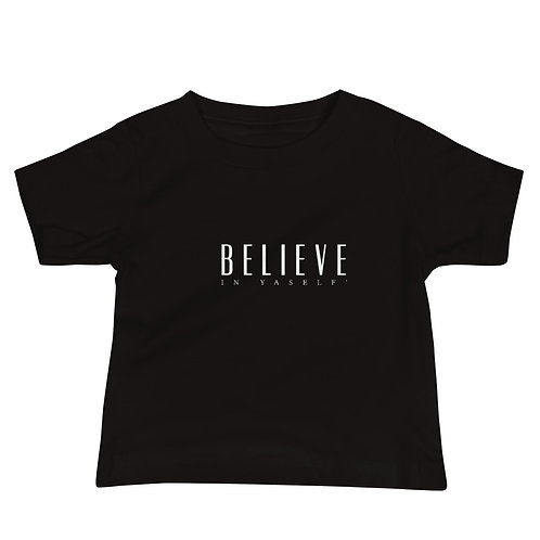 OFFICIAL Believe In Yaself' Baby Jersey Short Sleeve Tee
