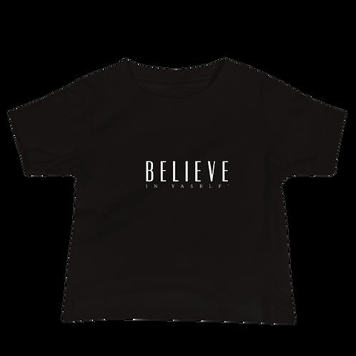 OFFICIAL Believe In Yaself' Baby Jersey Short Sleeve Tee