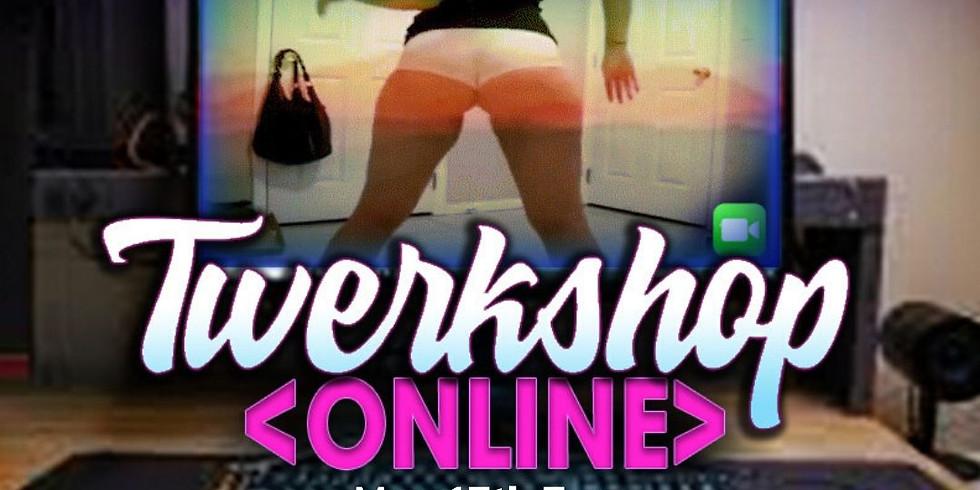 Online twerkshop with dance routine