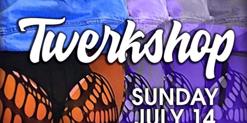 Twerkshop with hiphop dance routine