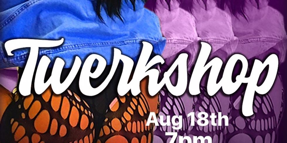 Twerkshop with hip hop dance routine at KDFSTUDIO