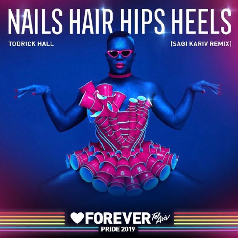 Nails hips hair heels