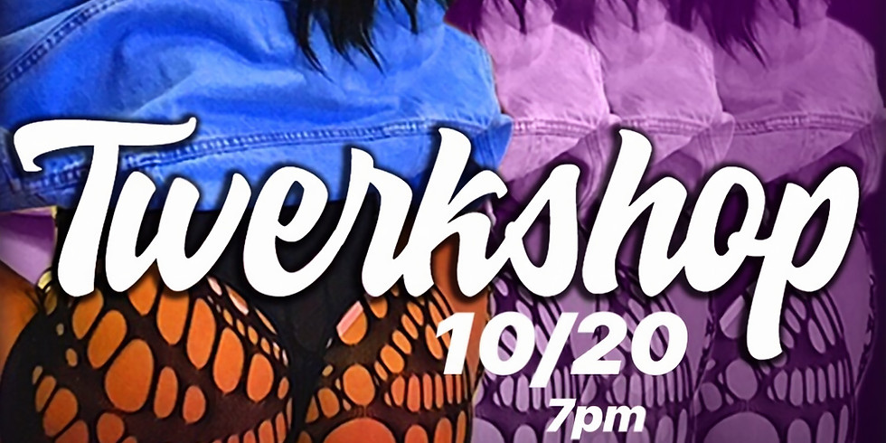 Twerkshop with hip hop dance routine