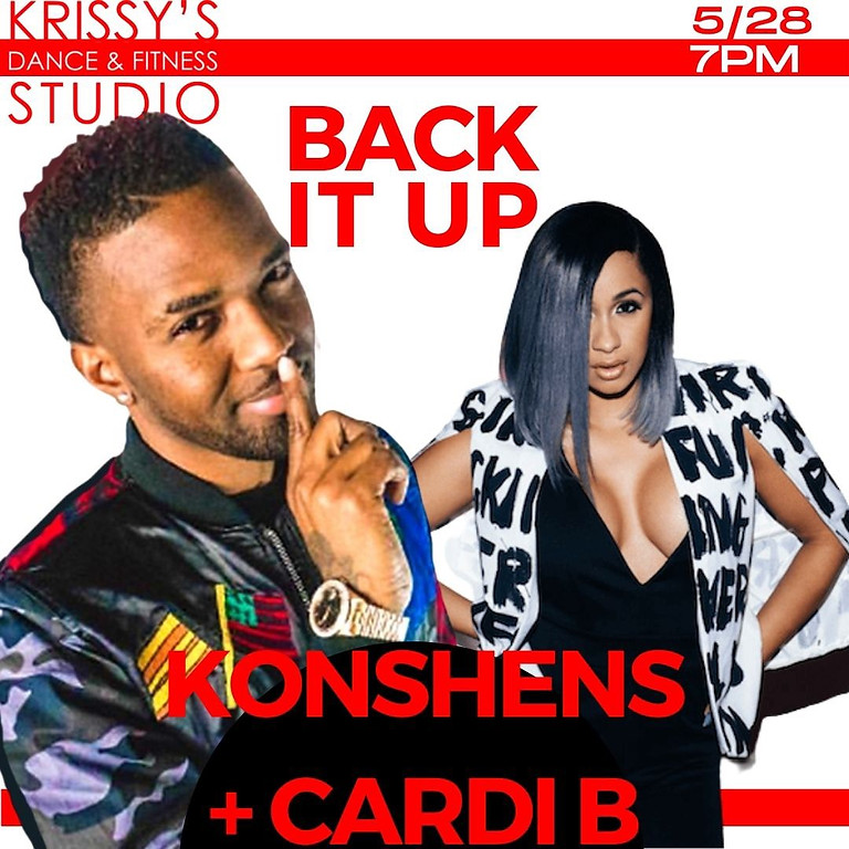 "BEGINNER Strut™️ Slow and Sexy Edition  (DANCEHALL)  Cardi B and Konshens ""Back it Up"""