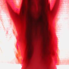 La belle dame sans merci (red silhouette