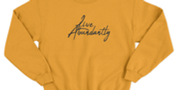 Live Abundantly Signature Crew Neck
