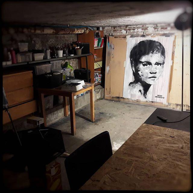 Mon atelier. La cave._._._._._._