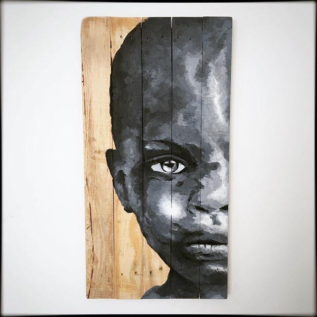 Acrylique sur bois.  76x39cm Disponible.