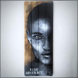 INTROSPECTION B04 Acrylique sur bois