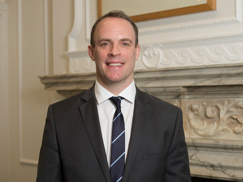 Raab did not label human rights violations of the Uyghur region as genocide