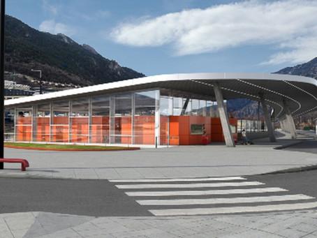 Estació d'autobusos - Estadi Nacional