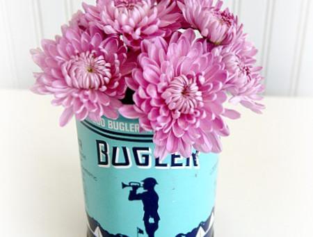 :: flor na lata ::