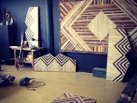 :: grafismos usando a madeira ::