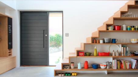 :: prateleiras e escada ::