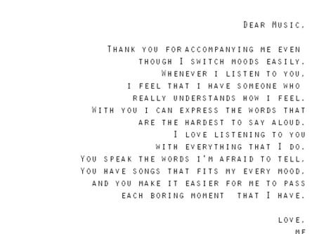 :: dear music ::
